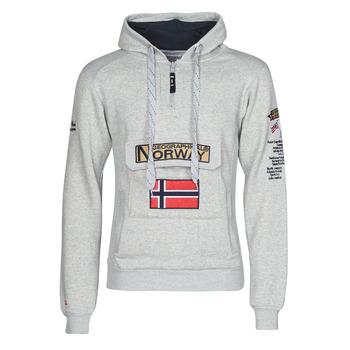 textil Herre Sweatshirts Geographical Norway GYMCLASS Grå / Flerfarvet