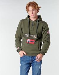 textil Herre Sweatshirts Geographical Norway GYMCLASS Kaki