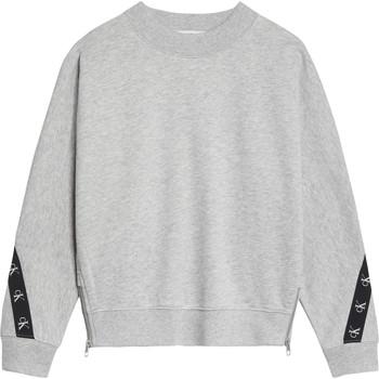 textil Pige Sweatshirts Calvin Klein Jeans IG0IG00687-PZ2 Grå
