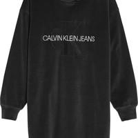 textil Pige Korte kjoler Calvin Klein Jeans IG0IG00711-BEH Sort