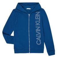 textil Dreng Sweatshirts Calvin Klein Jeans IB0IB00668-C5G Blå