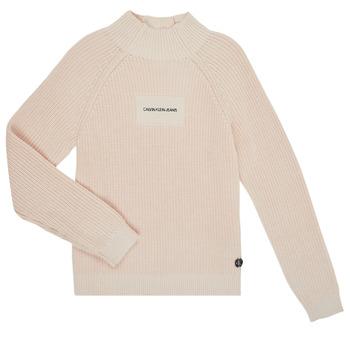 textil Pige Pullovere Calvin Klein Jeans IG0IG00680-PGB Grå