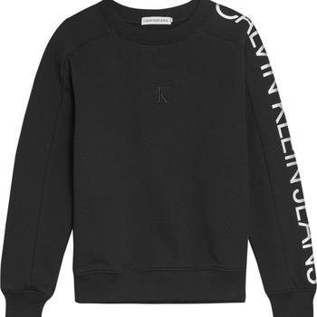 textil Pige Sweatshirts Calvin Klein Jeans IG0IG00691-BEH Sort