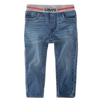 textil Dreng Jeans - skinny Levi's PULL-ON SKINNY JEAN Blå