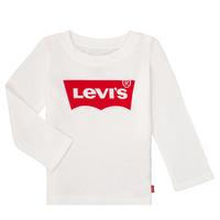 textil Pige Langærmede T-shirts Levi's BATWING TEE LS Hvid