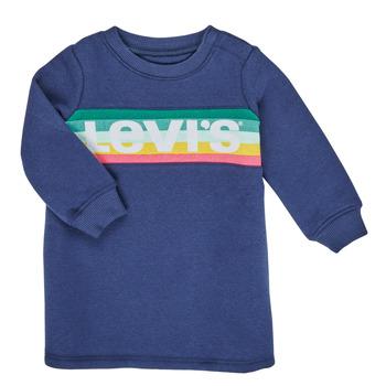 textil Pige Korte kjoler Levi's SWEATSHIRT DRESS Blå