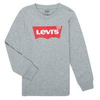 textil Dreng Langærmede T-shirts Levi's BATWING TEE LS Grå
