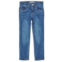 textil Dreng Jeans - skinny Levi's 510 SKINNY FIT COZY JEAN Blå