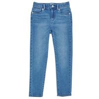 textil Pige Jeans - skinny Levi's 711 SKINNY JEAN Blå
