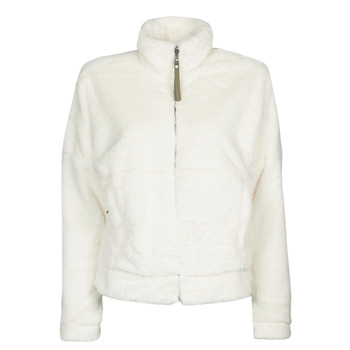 textil Dame Fleecetrøjer Columbia BUNDLE UP FULL ZIP FLEECE Hvid