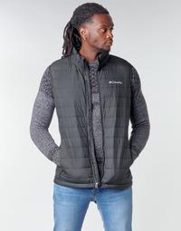 textil Herre Dynejakker Columbia POWDER LITE VEST Sort