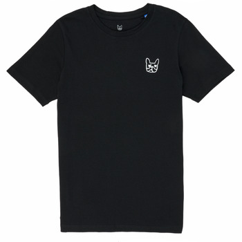 textil Dreng T-shirts m. korte ærmer Jack & Jones JJAARHUS TEE Sort