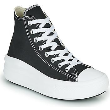 Sko Dame Høje sneakers Converse Chuck Taylor All Star Move Canvas Color Hi Sort