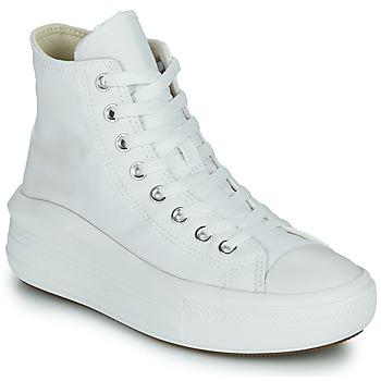 Sko Dame Høje sneakers Converse Chuck Taylor All Star Move Canvas Color Hi Hvid