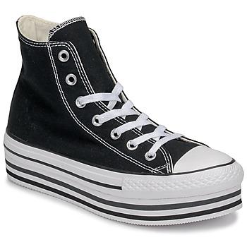 Sko Dame Høje sneakers Converse Chuck Taylor All Star Platform Eva Layer Canvas Hi Sort