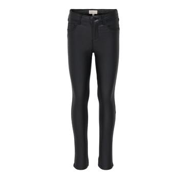 textil Pige Smalle jeans Only KONROYAL Sort
