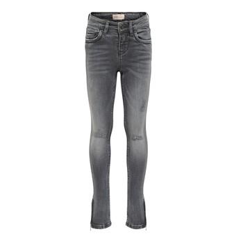 textil Pige Smalle jeans Only KONKENDEL Grå