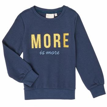 textil Pige Sweatshirts Only KONMINA Marineblå