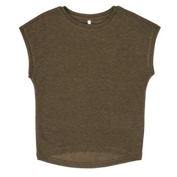 textil Pige T-shirts m. korte ærmer Only KONSILVERY Sort