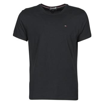textil Herre T-shirts m. korte ærmer Tommy Jeans TJM ORIGINAL JERSEY TEE Sort