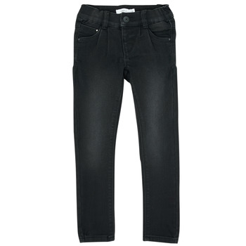 textil Pige Smalle jeans Name it NMFPOLLY Sort