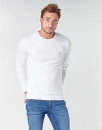 textil Herre Langærmede T-shirts Tommy Hilfiger STRETCH SLIM FIT LONG SLEEVE TEE Hvid
