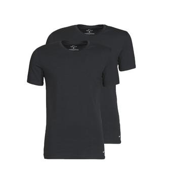 textil Herre T-shirts m. korte ærmer Nike EVERYDAY COTTON STRETCH Sort