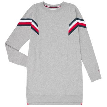 textil Pige Korte kjoler Tommy Hilfiger KG0KG05283-P6U Grå