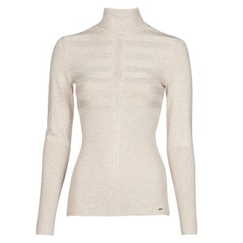 textil Dame Pullovere Morgan MENTOS Beige