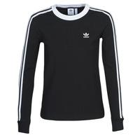 textil Dame Langærmede T-shirts adidas Originals 3 STR LS Sort