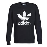 textil Dame Sweatshirts adidas Originals TRF CREW SWEAT Sort