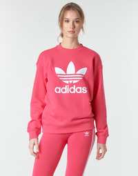 textil Dame Sweatshirts adidas Originals TRF CREW SWEAT Pink