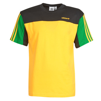 textil Herre T-shirts m. korte ærmer adidas Originals CLASSICS SS TEE Gylden