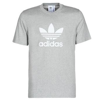 textil Herre T-shirts m. korte ærmer adidas Originals TREFOIL T-SHIRT Grå