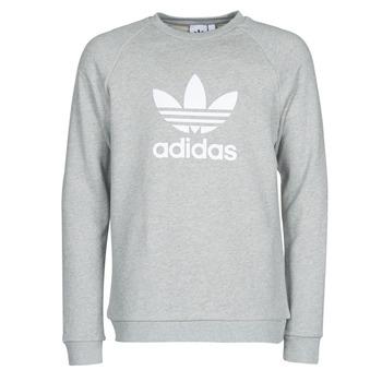 textil Herre Sweatshirts adidas Originals TREFOIL CREW Grå