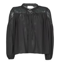 textil Dame Toppe / Bluser Molly Bracken R1521H20 Sort
