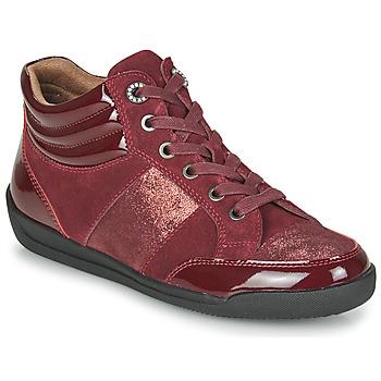 Sko Dame Høje sneakers Damart 57079 Bordeaux