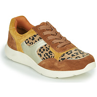 Sko Dame Lave sneakers Damart 62328 Beige / Gul