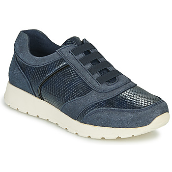 Sko Dame Lave sneakers Damart 63737 Blå