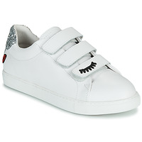 Sko Dame Lave sneakers Bons baisers de Paname EDITH EYES Hvid