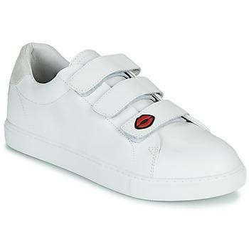 Sko Dame Lave sneakers Bons baisers de Paname EDITH LEGENDE Hvid