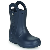 Sko Børn Gummistøvler Crocs HANDLE IT RAIN BOOT Navy