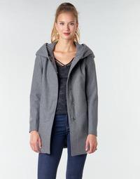textil Dame Frakker Moony Mood NANTE Grå / Mørk