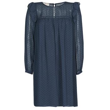 textil Dame Korte kjoler Moony Mood BREYAT Marineblå