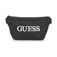 Tasker Herre Bæltetasker Guess QUARTO BUM BAG Sort