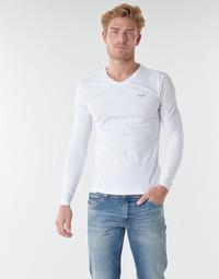 textil Herre Langærmede T-shirts Kaporal VIFT Sort-hvid