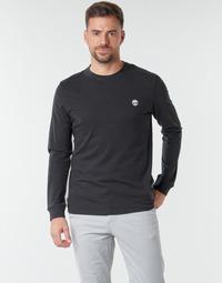 textil Herre Langærmede T-shirts Timberland LS Dunstan River Tee Sort
