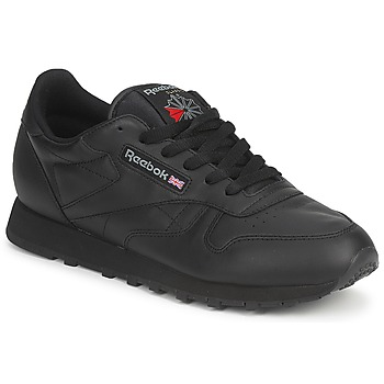 Sko Lave sneakers Reebok Classic CLASSIC LEATHER Sort