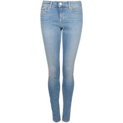 textil Dame Jeans - skinny Calvin Klein Jeans  Blå