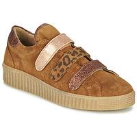 Sko Dame Lave sneakers Philippe Morvan ZEUS2 V1 SILKY CAMEL Brun